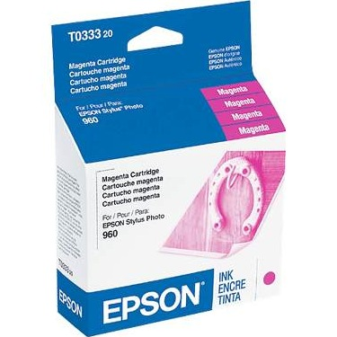 Genuine Epson T033320 Magenta Ink Cartridge