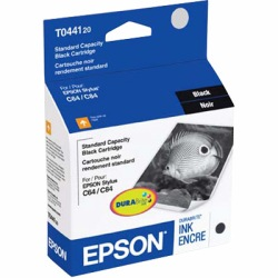 T044120 Ink Cartridge - Epson Genuine OEM (Black)