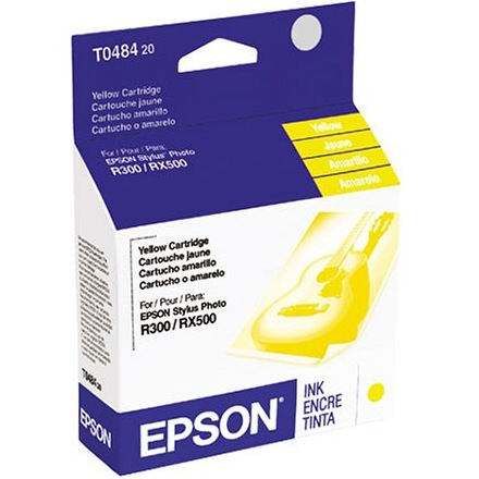 T048420 Ink Cartridge - Epson Genuine OEM (Yellow)