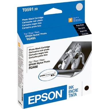 T059120 Ink Cartridge - Epson Genuine OEM (Black)