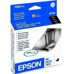 Genuine Epson T060120 Black Ink Cartridge