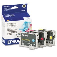 T060520 Ink Cartridge - Epson Genuine OEM (Bundle Pack)