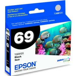 T069120 Ink Cartridge - Epson Genuine OEM (Black)