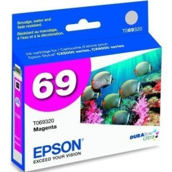 T069320 Ink Cartridge - Epson Genuine OEM (Magenta)