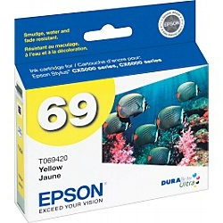 Genuine Epson T069420 Yellow Ink Cartridge