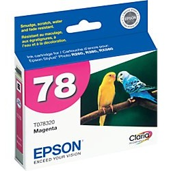 T078320 Ink Cartridge - Epson Genuine OEM (Magenta)