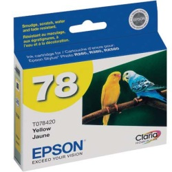 Genuine Epson T078420 Yellow Ink Cartridge