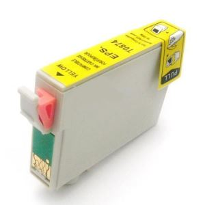 Compatible Epson T087420 Yellow Ink Cartridge