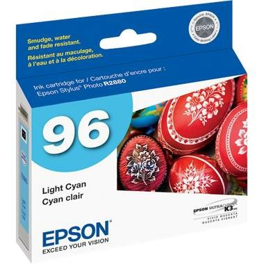 Genuine Epson T096520 Light Cyan Ink Cartridge