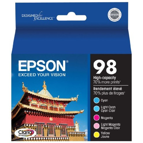 T098920 Ink Cartridge - Epson Genuine OEM (Bundle Pack)