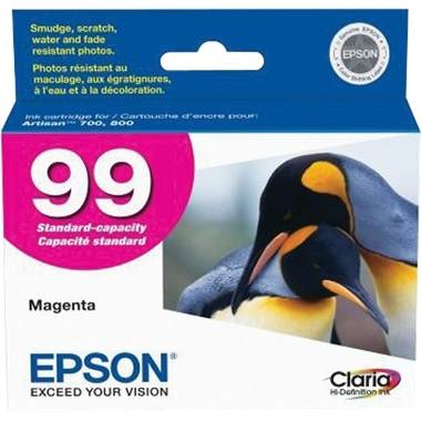T099320 Ink Cartridge - Epson Genuine OEM (Magenta)