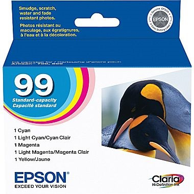 T099920 Ink Cartridge - Epson Genuine OEM (Bundle Pack)