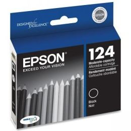 Genuine Epson T124120 Black Ink Cartridge