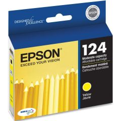 Genuine Epson T124420 Yellow Ink Cartridge