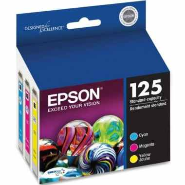 T125520 Ink Cartridge - Epson Genuine OEM (Bundle Pack)