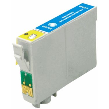 Compatible Epson T126220 Cyan Ink Cartridge