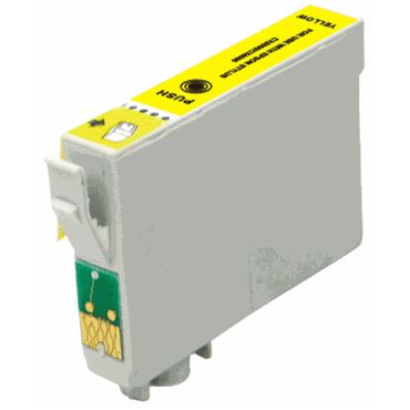 Compatible Epson T126420 Yellow Ink Cartridge