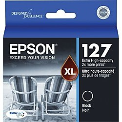T127120 Ink Cartridge - Epson Genuine OEM (Black)