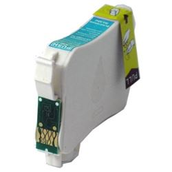 Compatible Epson T127220 Cyan Ink Cartridge
