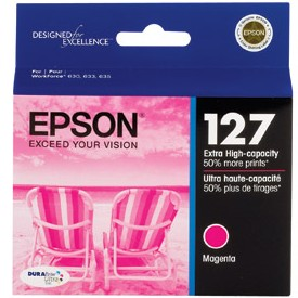 Genuine Epson T127320 Magenta Ink Cartridge