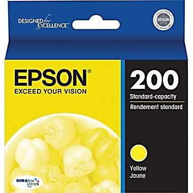 T200420 Ink Cartridge - Epson Genuine OEM (Yellow)