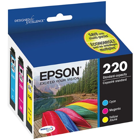 T220520 Ink Cartridge - Epson Genuine OEM (Bundle Pack)