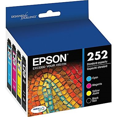 T252120-BCS Ink Cartridge - Epson Genuine OEM (Bundle Pack)