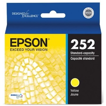 Genuine Epson T252420 Yellow Ink Cartridge