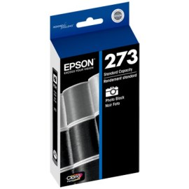 Genuine Epson T273120 Photo Black Ink Cartridge