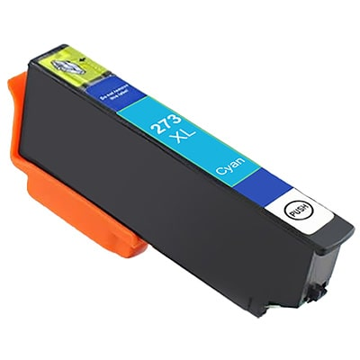Compatible Epson T273XL220 Cyan Ink Cartridge