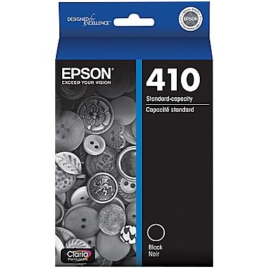 T410020 Ink Cartridge - Epson Genuine OEM (Black)