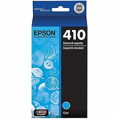 T410220 Ink Cartridge - Epson Genuine OEM (Cyan)