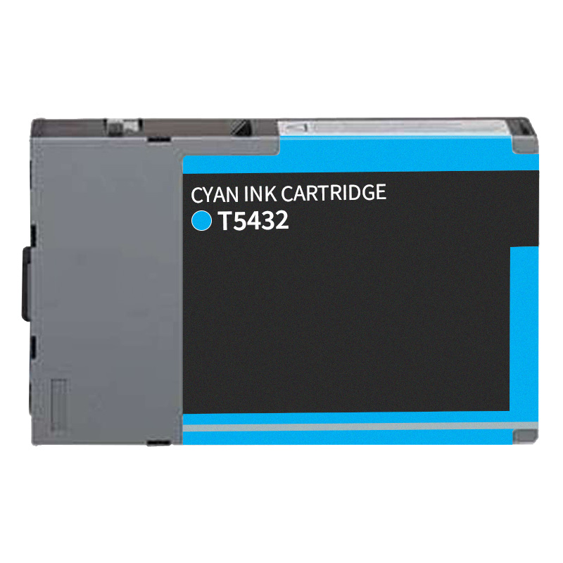 Compatible Epson T543200 Cyan Ink Cartridge