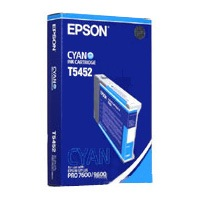 T545200 Ink Cartridge - Epson Genuine OEM (Cyan)