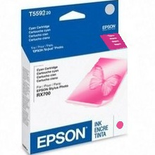 Genuine Epson T559320 Magenta Ink Cartridge