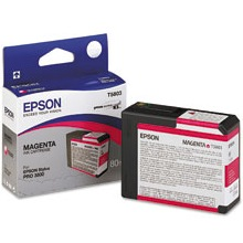 T580300 Ink Cartridge - Epson Genuine OEM (Magenta)