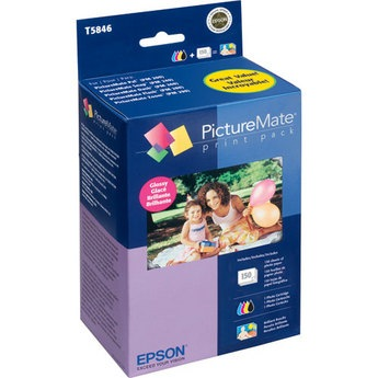 Genuine Epson T5846 Color Ink Cartridge