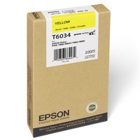 T603400 Ink Cartridge - Epson Genuine OEM (Yellow)