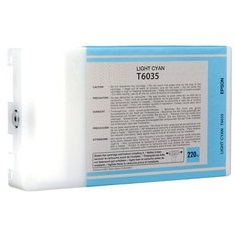 T603500 Ink Cartridge - Epson Remanufactured (Light Cyan)