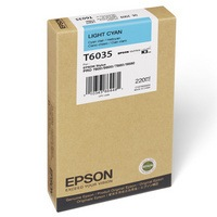 T603500 Ink Cartridge - Epson Genuine OEM (Light Cyan)