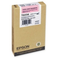 T603600 Ink Cartridge - Epson Genuine OEM (Light Magenta)