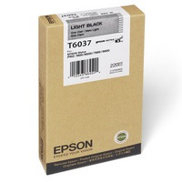 T603700 Ink Cartridge - Epson Genuine OEM (Light Black)