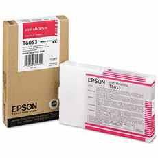 T605300 Ink Cartridge - Epson Genuine OEM (Magenta)