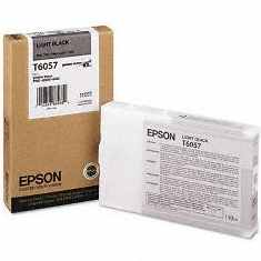 T605700 Ink Cartridge - Epson Genuine OEM (Light Black)
