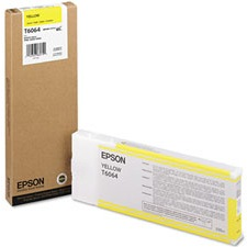 T606400 Ink Cartridge - Epson Genuine OEM (Yellow)