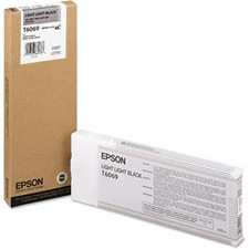 T606900 Ink Cartridge - Epson Genuine OEM (Light Light Black)