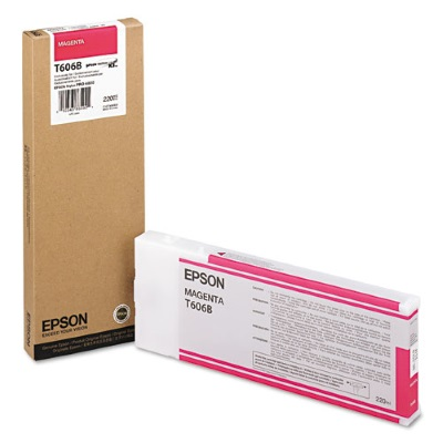 T606B00 Ink Cartridge - Epson Genuine OEM (Magenta)