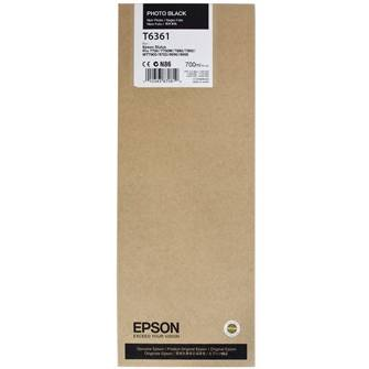 Genuine Epson T636100 Photo Black Ink Cartridge