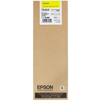 Genuine Epson T636400 Yellow Ink Cartridge