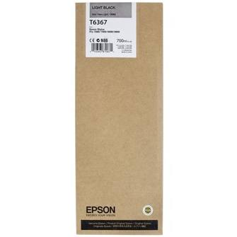Genuine Epson T636700 Light Black Ink Cartridge